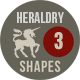 Photoshop Heraldry Shapes 3 - GraphicRiver Item for Sale