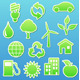 Green eco icon set   - GraphicRiver Item for Sale