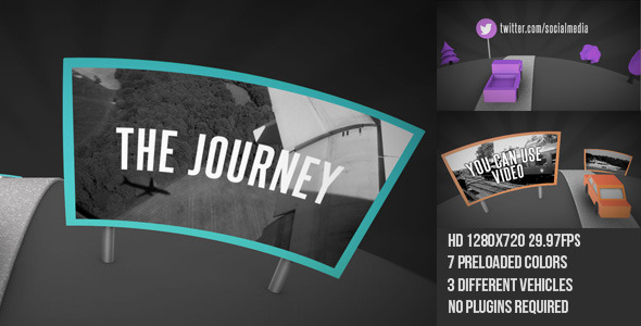 After Effects Project - VideoHive The Journey 2845613