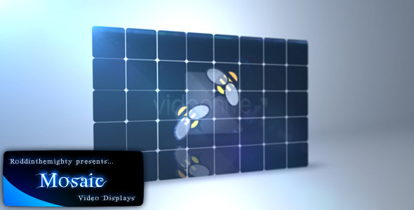 After Effects Project - VideoHive Mosaic 2813015