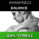 Balance - Gym Fitness WordPress HTML 5 Theme - ThemeForest Item for Sale