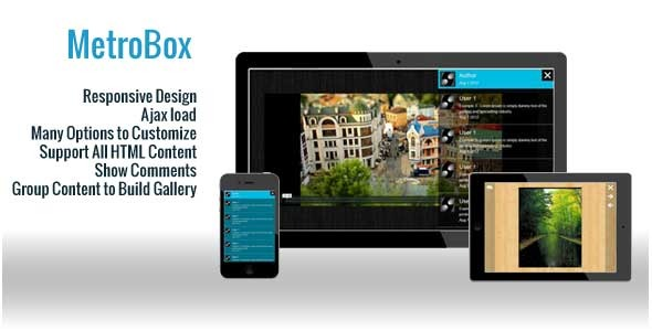 MetroBox - Responsive LightBox