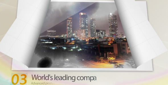 After Effects Project - VideoHive Open Paper Image Effects 2831187