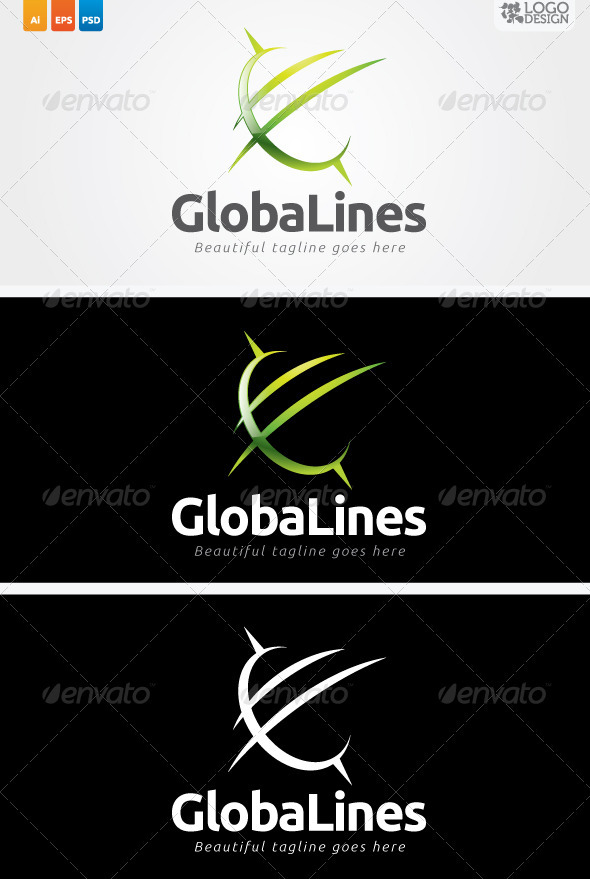 GlobaLines - Vector Abstract