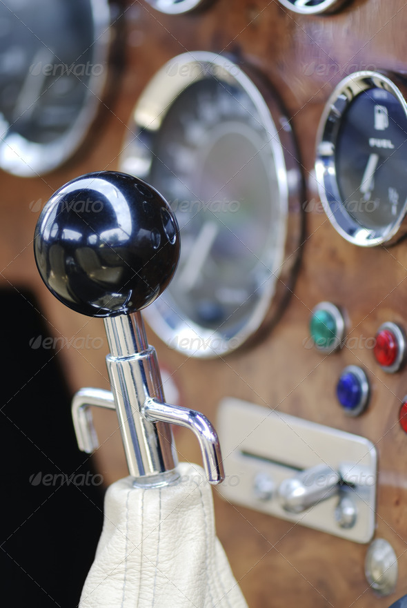 Gear Stick - Stock Photo - Images