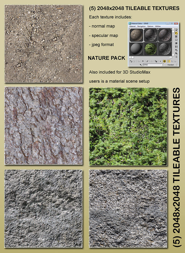 3DOcean Nature Pack 89622