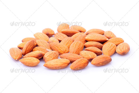 Almond nuts - Stock Photo - Images