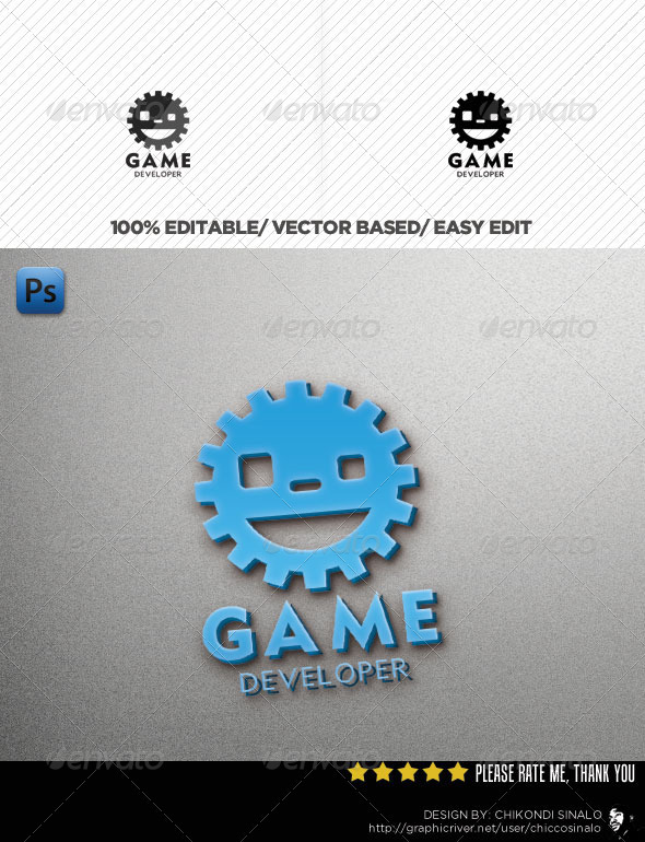 Game Developer Logo - Abstract Logo Templates