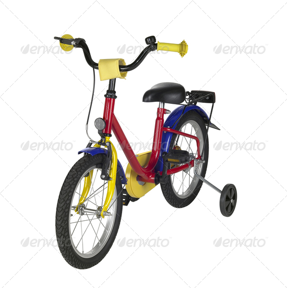 juvenile bicycle - Stock Photo - Images