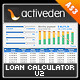 Loan/Mortgage Payment Calculator v2 for AS3 - ActiveDen Item for Sale