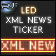 Dynamic Glowing LED XML News Ticker - ActiveDen Item for Sale