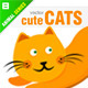 Cute Cats - GraphicRiver Item for Sale