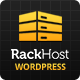 Rackhost Hosting WordPress Theme - ThemeForest Item for Sale