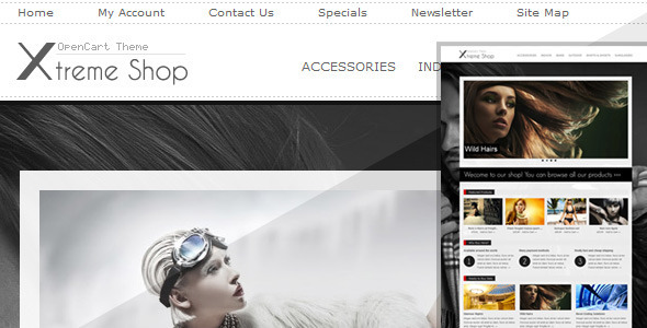 ThemeForest Xtreme Shop 980429