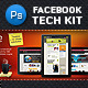 Facebook Tech Kit - GraphicRiver Item for Sale