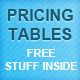 Web Pricing Tables + Free Stuff - GraphicRiver Item for Sale
