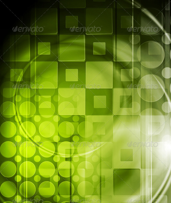 Abstract hi-tech background - Backgrounds Decorative