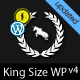 King Size - fullscreen background WordPress theme