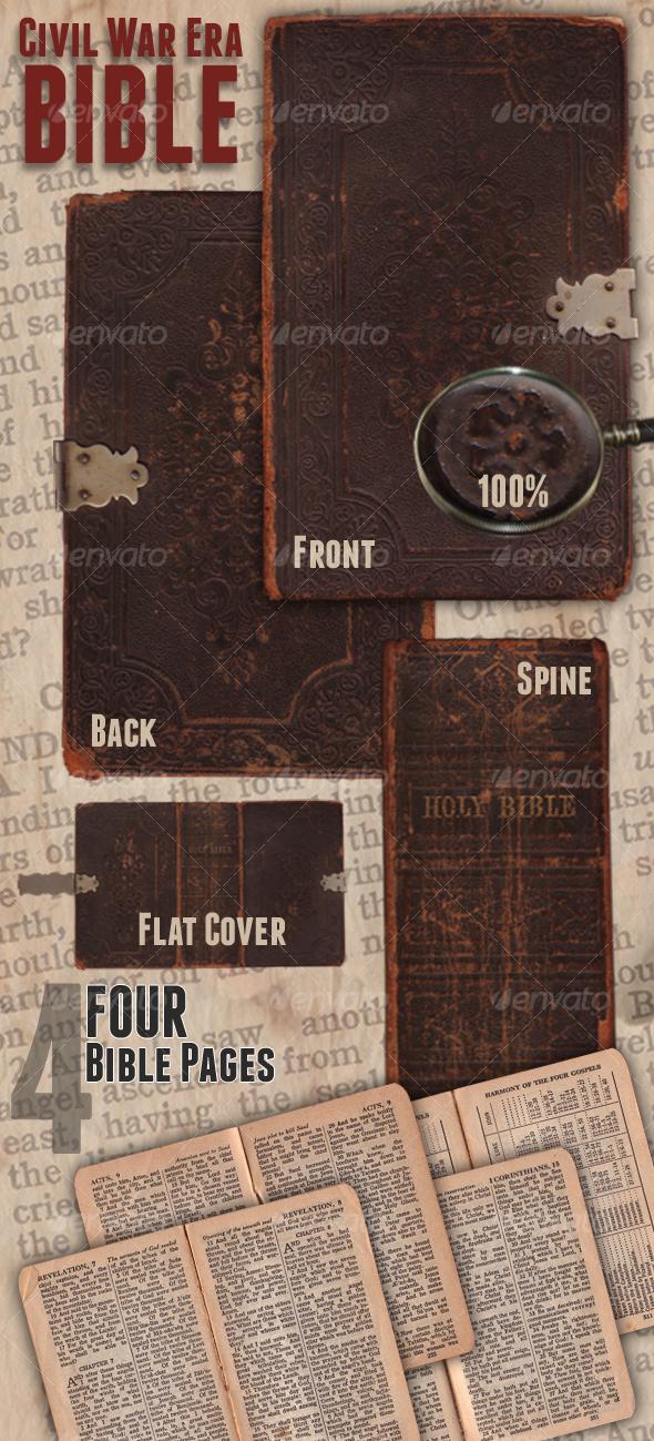 GraphicRiver Civil War Era Bible 103406