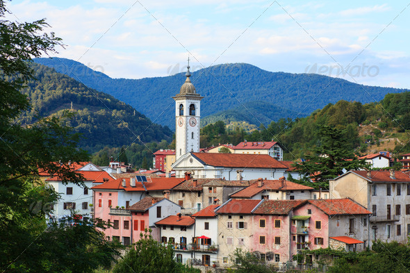 Kanal, Slovenia - Stock Photo - Images