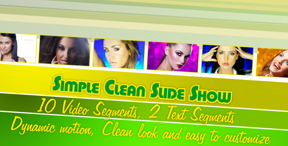 After Effects Project - VideoHive Simple Clean Slide Show 2883907