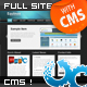 Full CMS Business Template with 2 Skins - ThemeForest Item for Sale