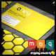 Honey Company Business Card - GraphicRiver Item for Sale