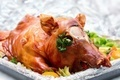 Christmas dinner. Roast pork - PhotoDune Item for Sale