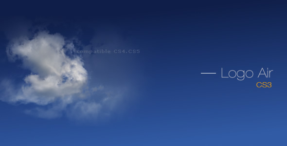 Air Logo CS3 VideoHive  Titles  Sky, Clouds 103583