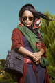 Fashion Portrait with Colorful Scarf in Nature - PhotoDune Item for Sale