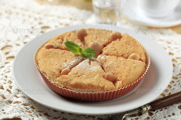 Fresh baked Dessert pie - Stock Photo - Images
