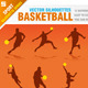 Basketball Silhouettes - GraphicRiver Item for Sale