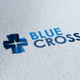 Blue Cross Logo - GraphicRiver Item for Sale
