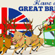 Great British Christmas Santa Reindeer Double Deck - GraphicRiver Item for Sale