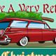 Retro Christmas Tree Station Wagon  - GraphicRiver Item for Sale