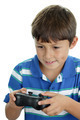 Boy playing video game - PhotoDune Item for Sale