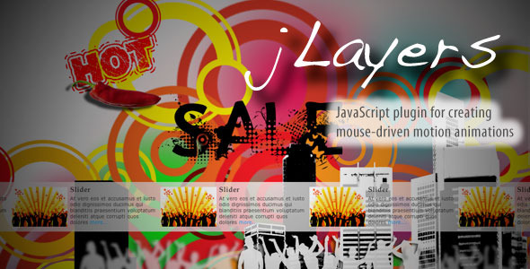 jLayers - Mouse Driven Animation Plugin - CodeCanyon Item for Sale