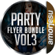 Party Flyer Bundle Vol3 - 4 in 1 - GraphicRiver Item for Sale