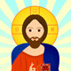 Jesus Christ Orthodox Icon - GraphicRiver Item for Sale