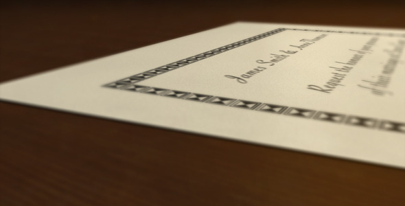 After Effects Project - VideoHive Elegant Wedding Invitation 2892548