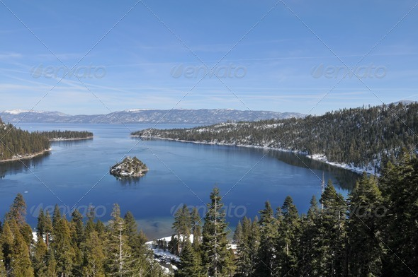 Emerald Bay - Stock Photo - Images