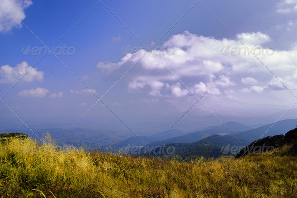 Mountains landscape - Stock Photo - Images