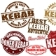 Kebab stamps - GraphicRiver Item for Sale