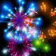 Colourful Vector Fireworks - GraphicRiver Item for Sale