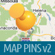 Map and Navigation Design Elements - GraphicRiver Item for Sale