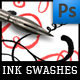 Ink Swashes Brushes - GraphicRiver Item for Sale