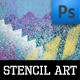 Stencil Art Brushes - GraphicRiver Item for Sale
