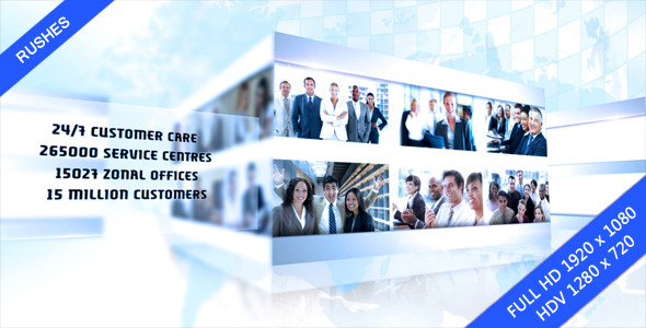 After Effects Project - VideoHive Corporate Multiview 2902336