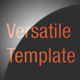 Versatile Multi-Page Template Dark and Light - GraphicRiver Item for Sale