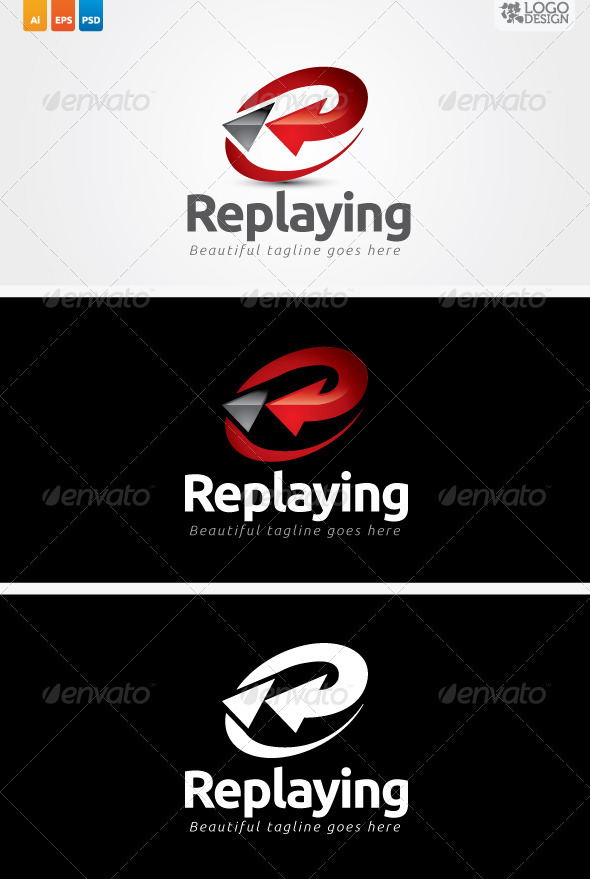 Replaying - Symbols Logo Templates